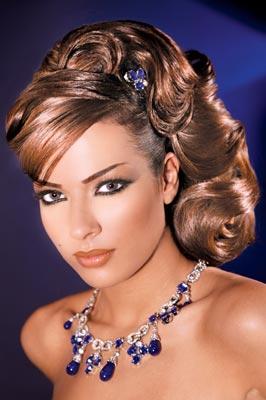 مدل آرایش صورت و مو | www.iranpixfa.ir